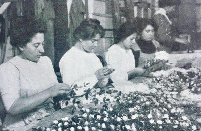 Artificial Flower Makers – Herstellung von Kunstblumen