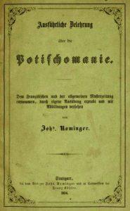 Potischomanie Johannes Rominger 1854
